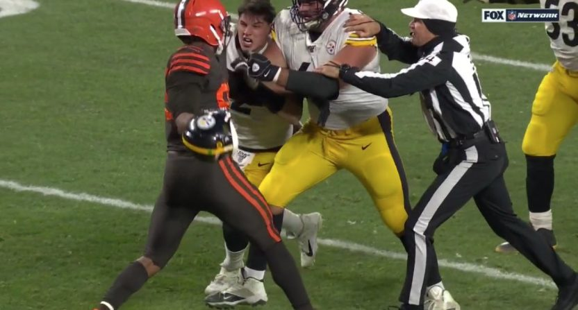 Browns Defeat Steelers In A Game Marred By Myles Garrett