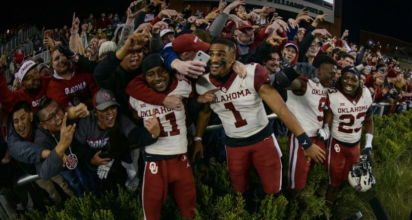 The Oklahoma Sooners came back for a big win against Baylor Saturday.