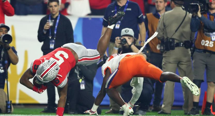 Garrett Wilson made a great CFP semifinal catch for Ohio State.