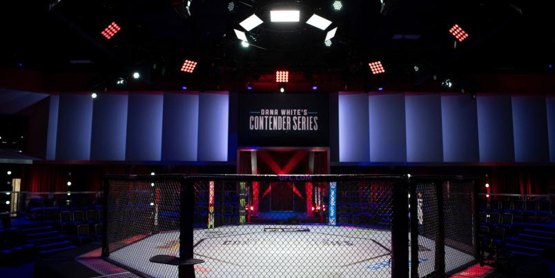 The UFC APEX facility.