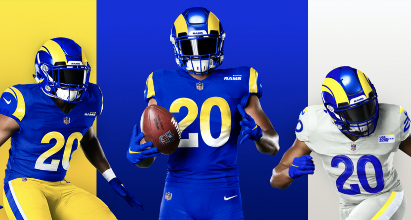 The Los Angeles Rams Reveal Their New Uniforms And Yikes