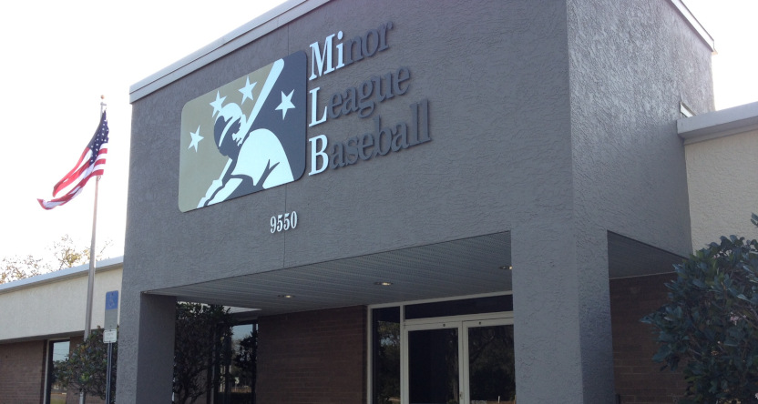 The Minor League Baseball headquarters.