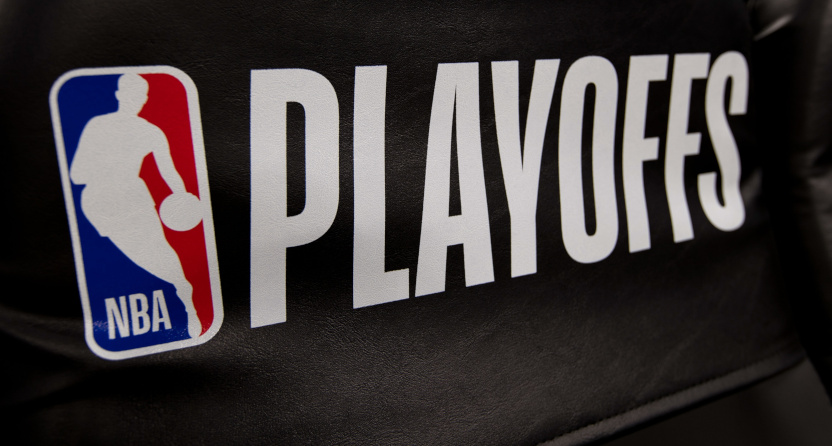 The logo for the 2019 NBA playoffs.