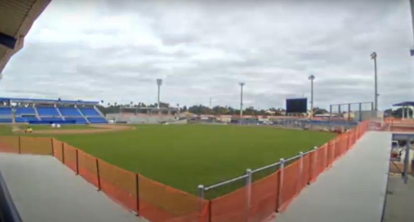 The Blue Jays' TD Ballpark in Dunedin.