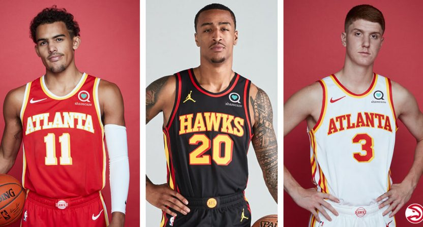 Atlanta Hawks unveil new unis that are a blast from the past