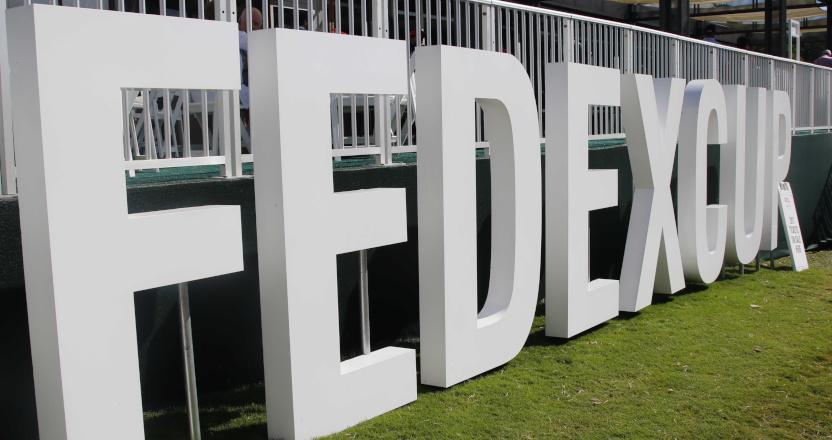 FedEx Cup signage