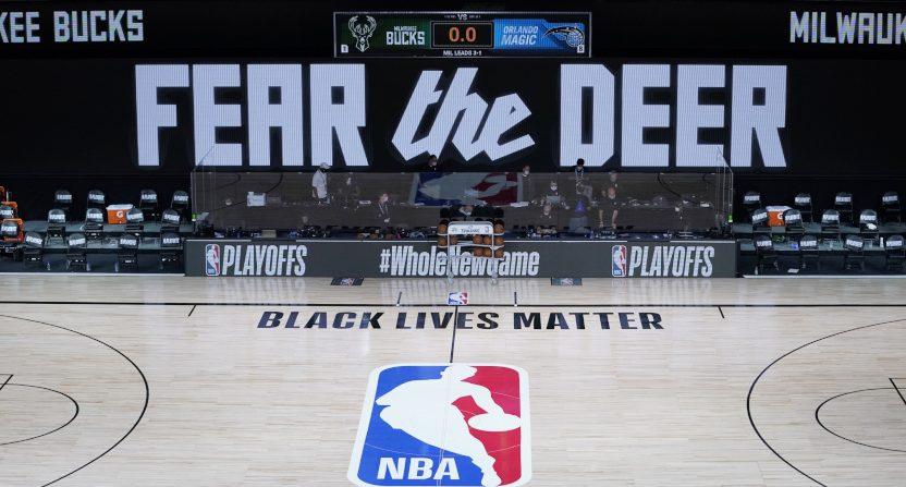 The Bucks-Magic game that didn't happen.