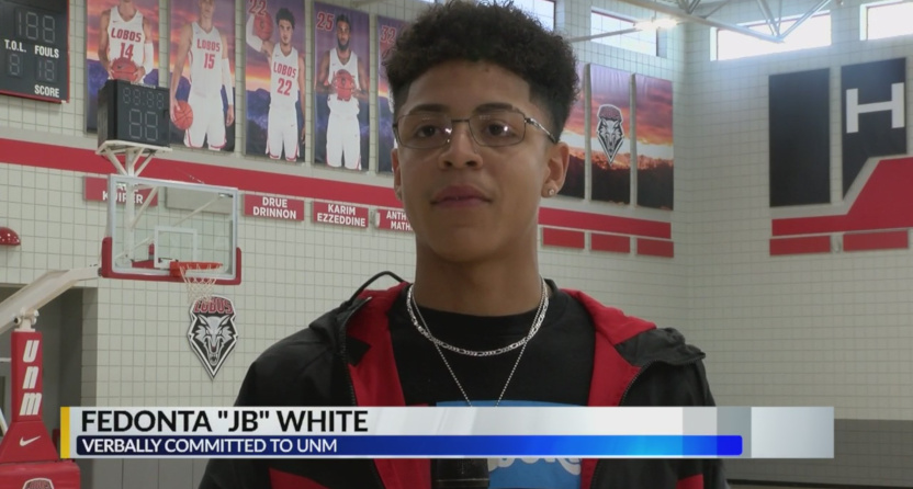 Incoming New Mexico basketball player J.B. White shot and killed at 18