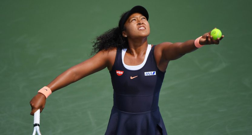 Naomi Osaka at the Western & Southern Open quarterfinals.