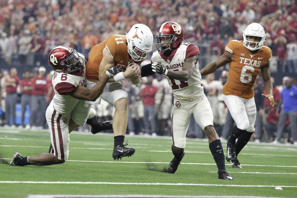Sam Ehlinger and Texas may be the easy pick to be the top threat to Oklahoma in the Big 12, but are they? Photo: USA TODAY Sports