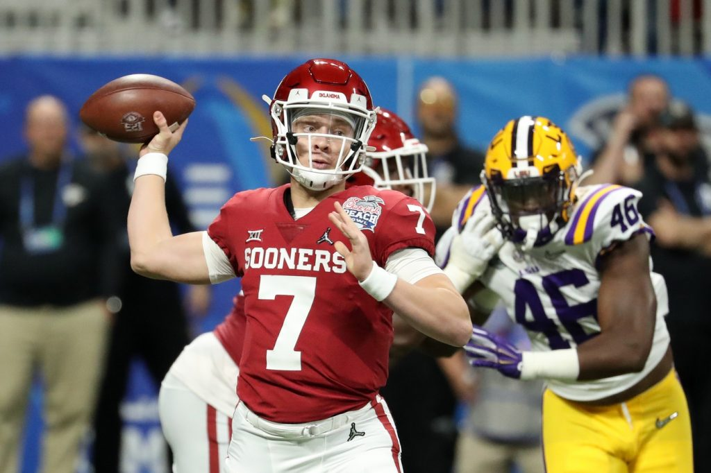 Can Spencer Rattler continue Oklahoma's recent tradition of Heisman-caliber quarterback play? Photo: USA TODAY Sports
