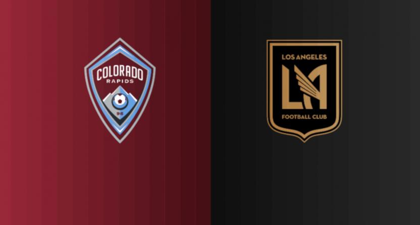 The Colorado Rapids postponement against LAFC.