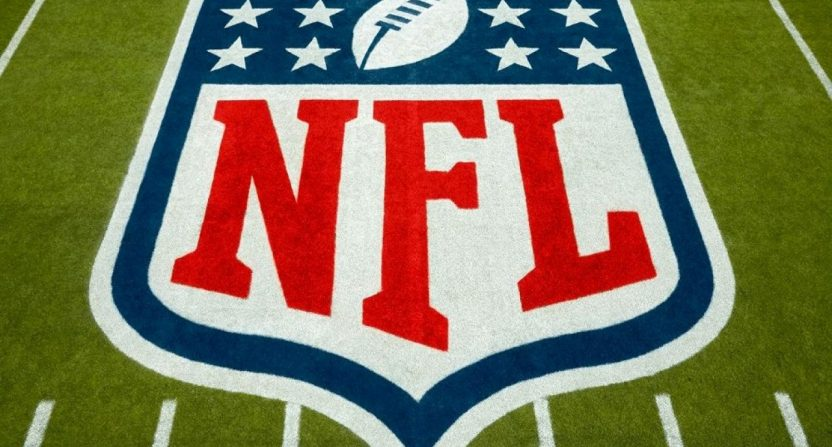 The NFL logo.
