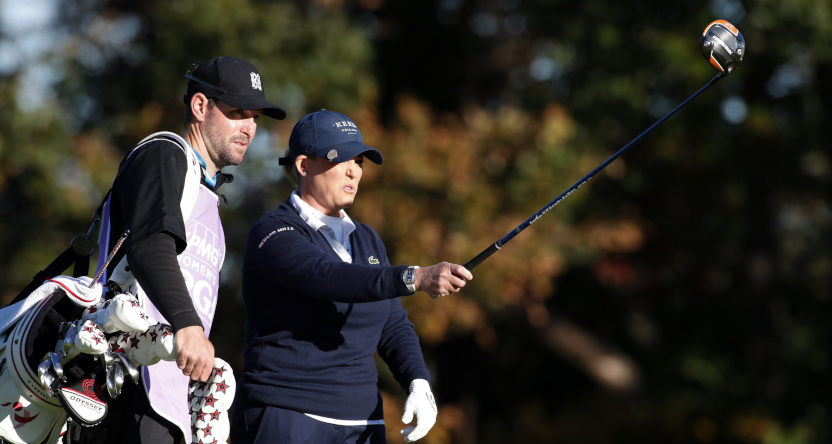 Cristie Kerr at the 2020 Women's PGA Championship in October.