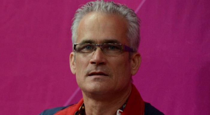 USA Olympic women's gymnastics coach John Geddert in 2012.