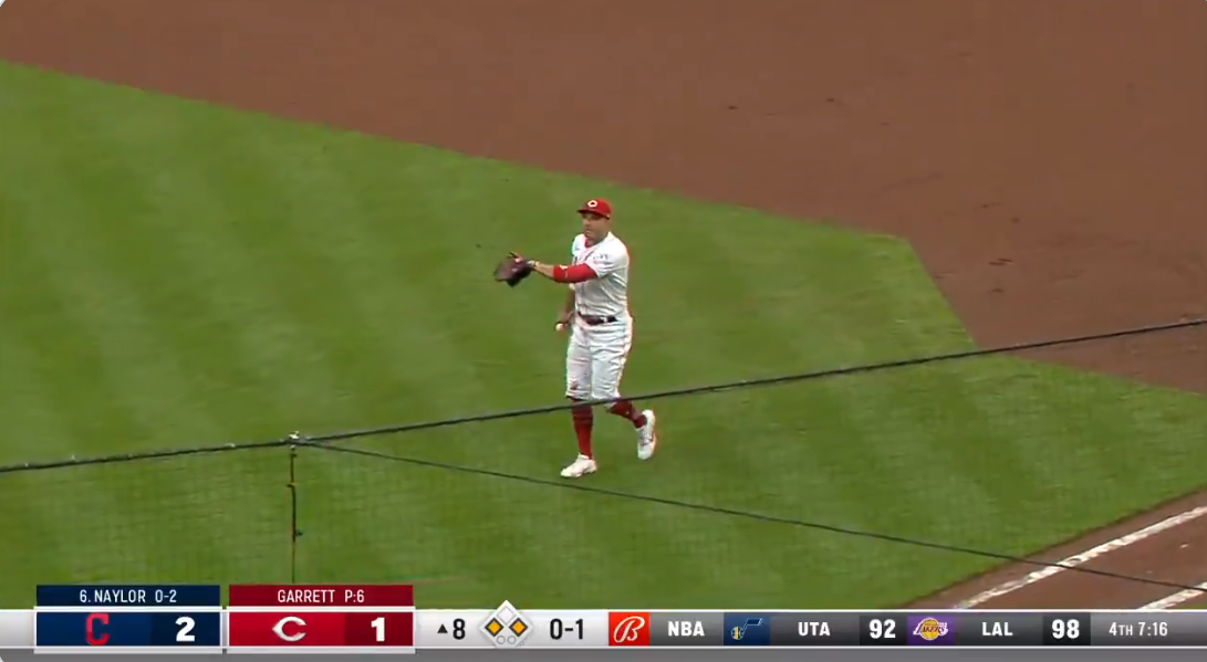 Joey Votto adds another highlight to incredible career by turning triple play