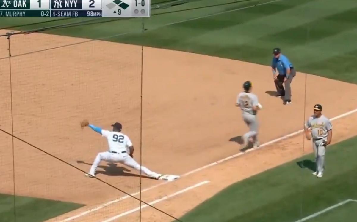 Yankees turn game-ending triple play