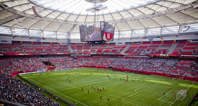 B.C. Place at the 2015 FIFA Women's World Cup (via GoToVan on Flickr).