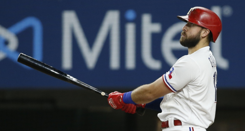 Joey Gallo with the Rangers.