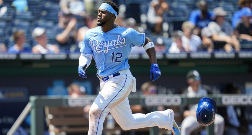 Jorge Soler with the Royals.