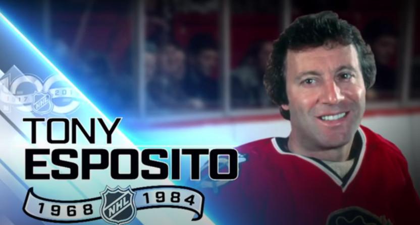 Tony Esposito.
