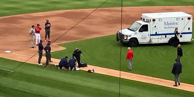 Phillies prospect Daniel Brito has surgery after collapsing during game; Triple-A doubleheader postponed