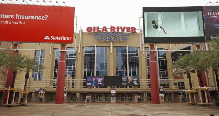 Gila River Arena in Glendale.