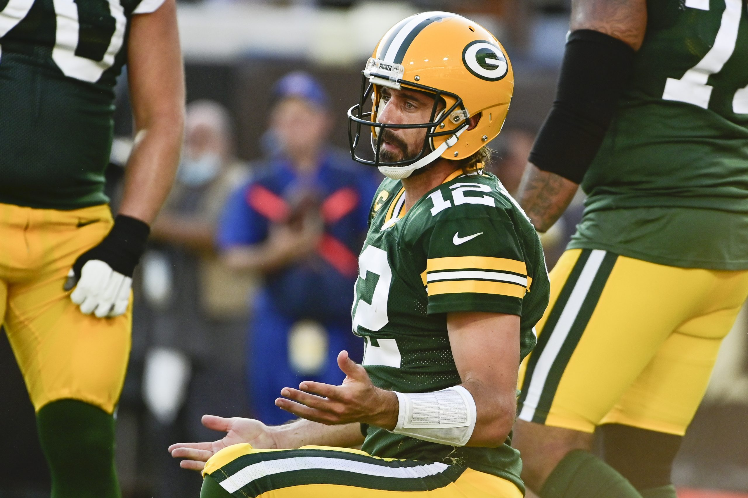 CBS's 'NFL Today' pregame hosts absolutely tore into Aaron Rodgers