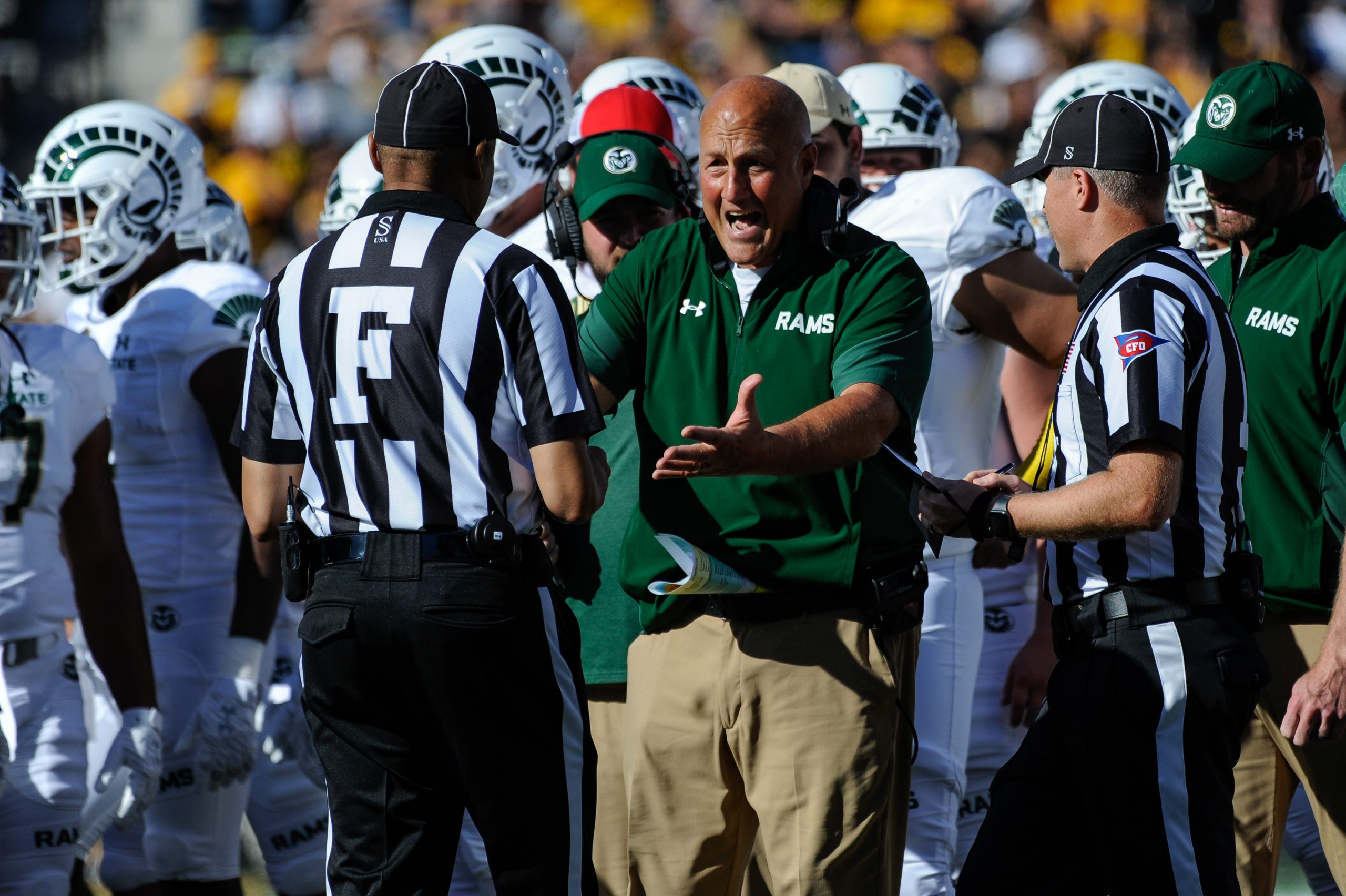 College football world reacts to baffling Colorado State finish