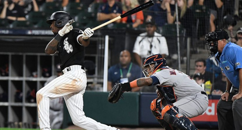 Tim Anderson against the Astros.