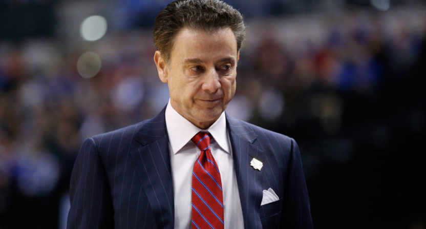Rick Pitino says he has no idea he has been running a New
