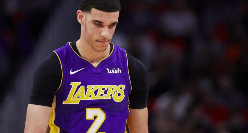 44f65441faae Jalen Rose believes Lonzo Ball is tanking his trade value to stay with  Lakers