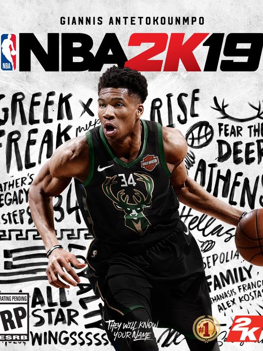 Giannis Antetokounmpo doesn't believe in the 2K curse ...