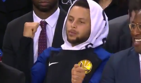 Steph Curry and Mike Brown grooved out to the Fergie ... Fergie National Anthem Remix