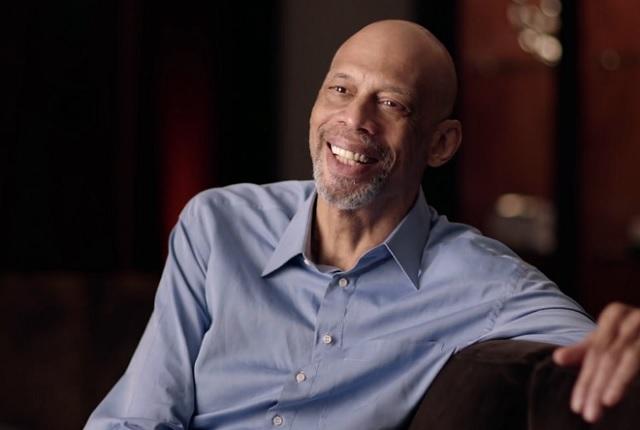 Screen cap from 'Kareem: Minority of One' (HBO).