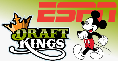 Disney and DraftKings.