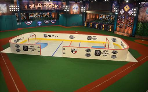 NHL/MLB Network rink