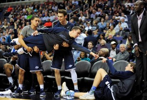 Will Monmouth's bench be able to celebrate at the MAAC Tournament?