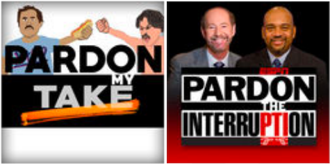 Pardon My Take Interruption