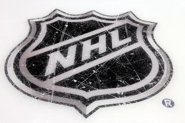The NHL logo.