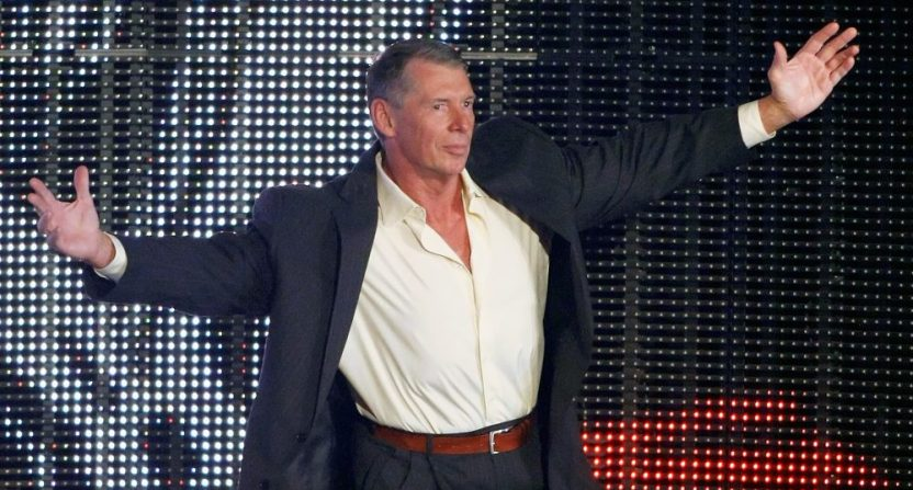 WWE CEO Vince McMahon