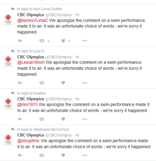 CBC apologies