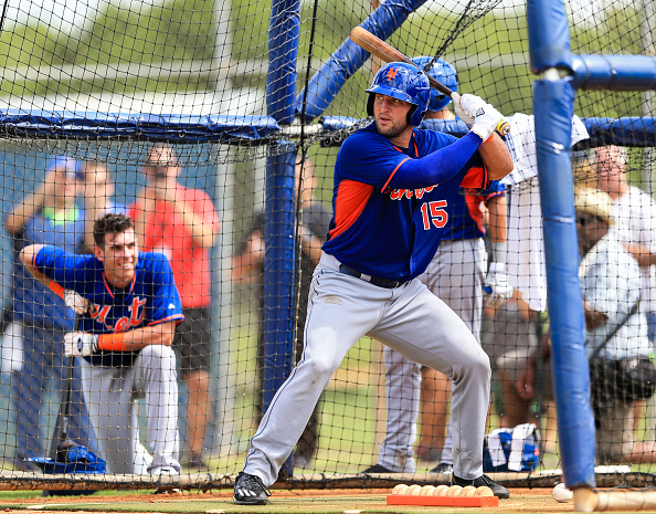Tim Tebow spring training