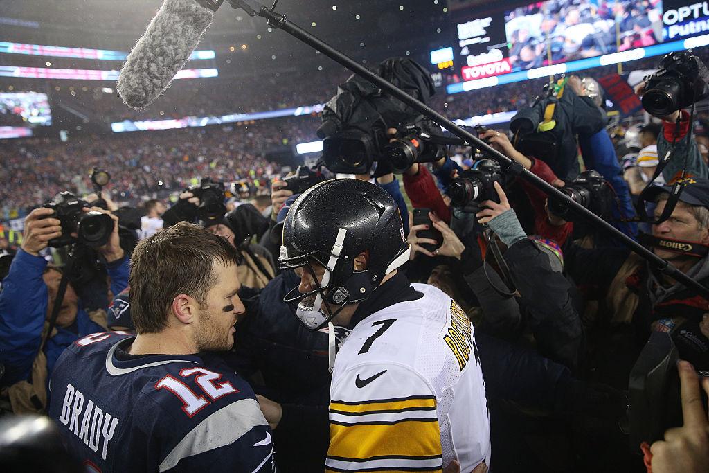Patriots Steelers ratings