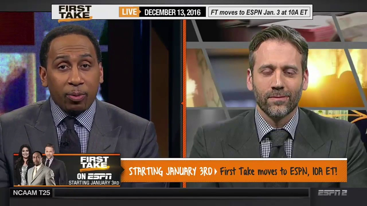 First Take moves to ESPN