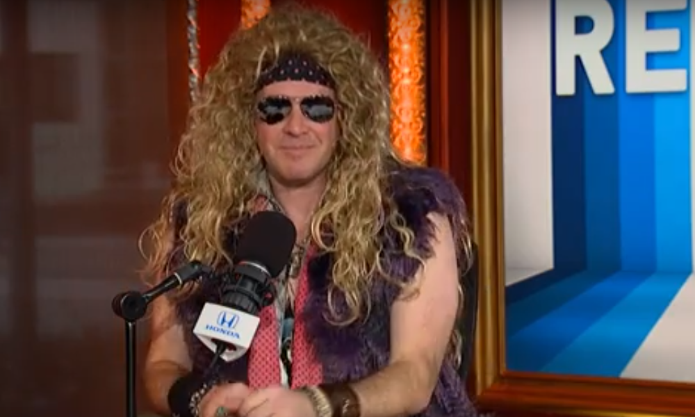 Rich Eisen glam metal