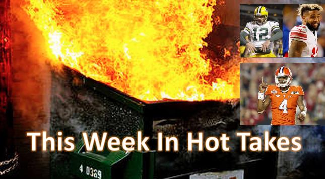This Week In Hot Takes Jan 13