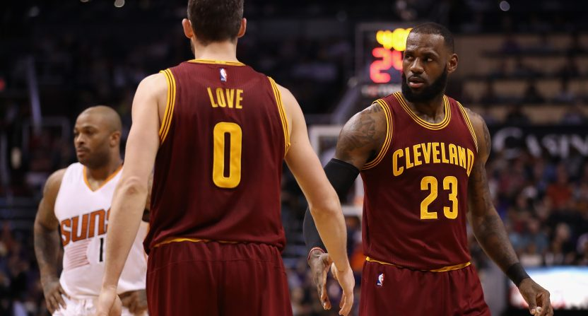 "6542548d55b3 Lebron James calls Frank Isola   the rumor that LeBron wants Cavs to trade  Kevin Love for Carmelo ""trash"""