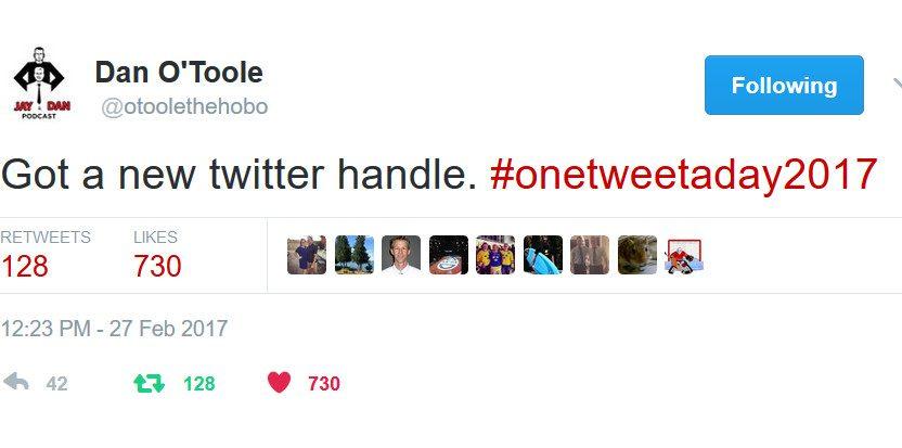 Dan O'Toole Twitter