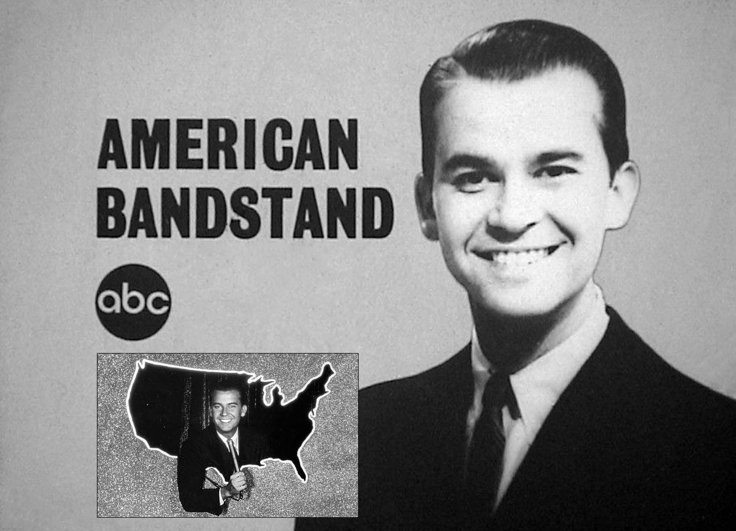 American band stand with dick clark